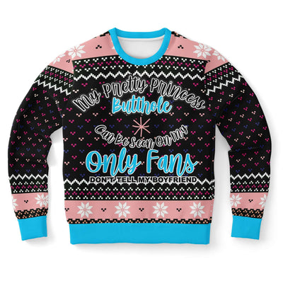 Onlyfans Princess Funny Ugly Christmas Sweater