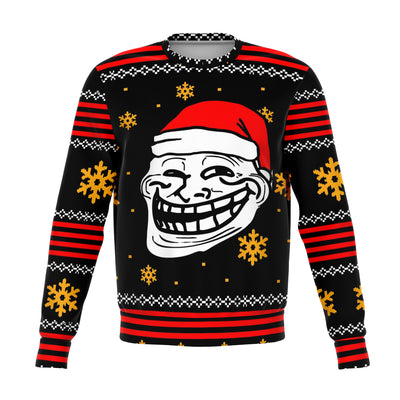 Santa Troll Meme Ugly Christmas Sweater