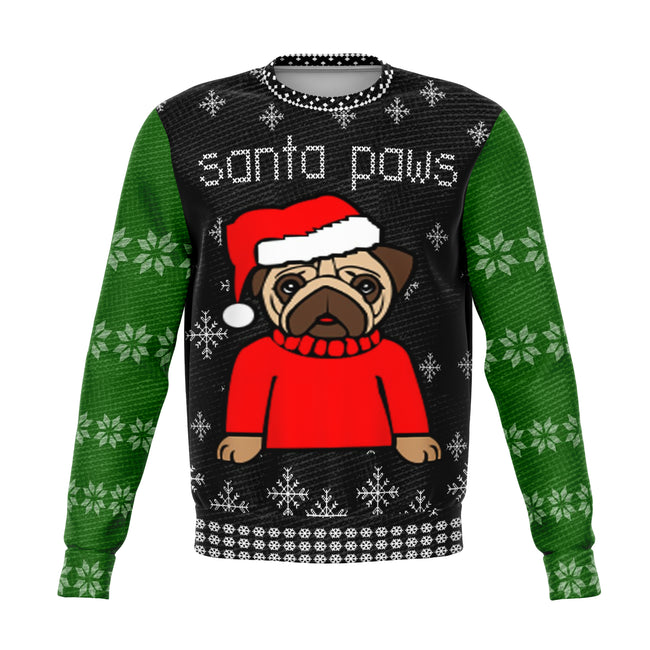 Santa Paws Ugly Christmas Sweater - OnlyClout