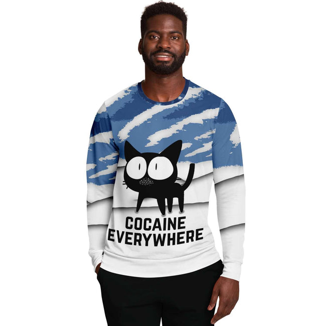 Blow Everywhere 3D Unisex Sweater - OnlyClout