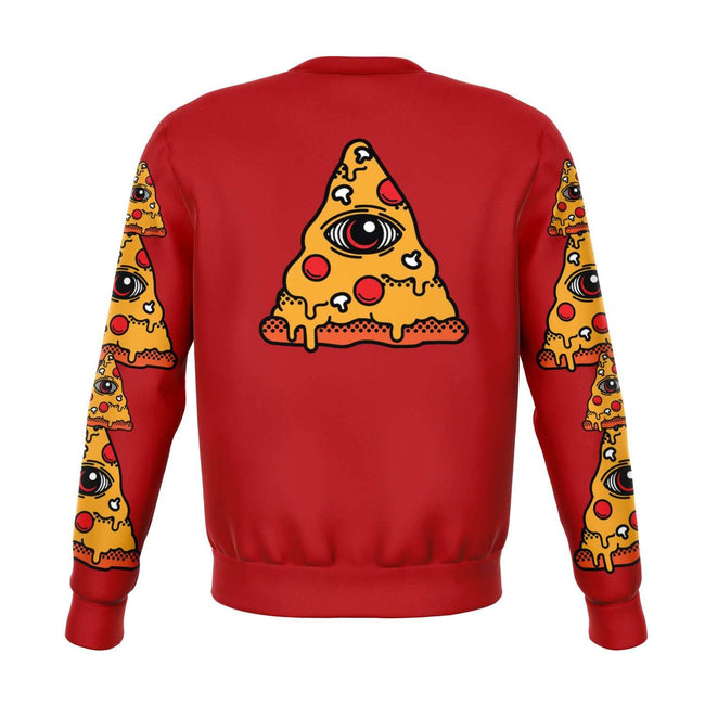 In Pizza We Crust 3D Unisex Sweater - OnlyClout