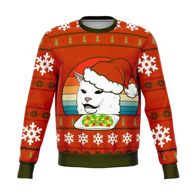 Funny Cat Meme Ugly Christmas Sweater