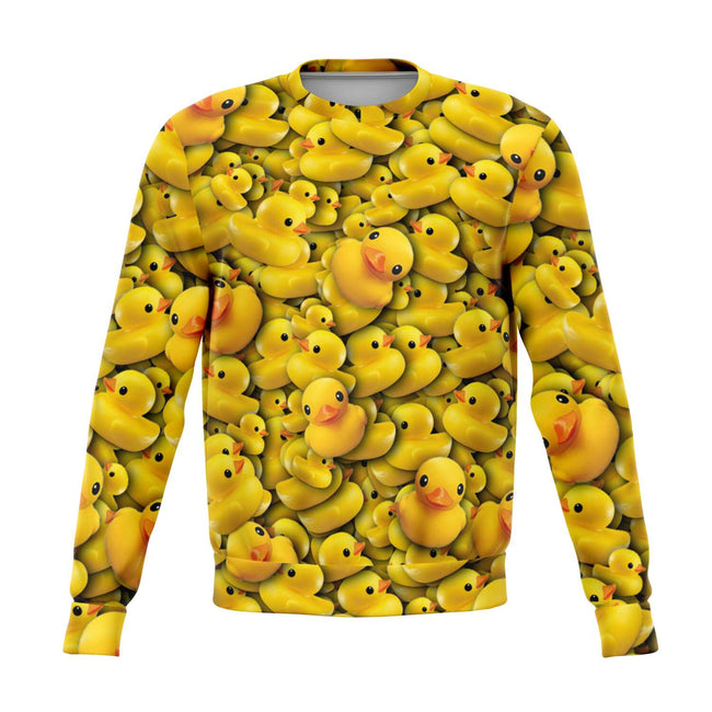 Rubber Duckie 3D Unisex Sweater - OnlyClout