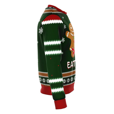 Eat Me Gingerbread Funny Ugly Christmas Sweater