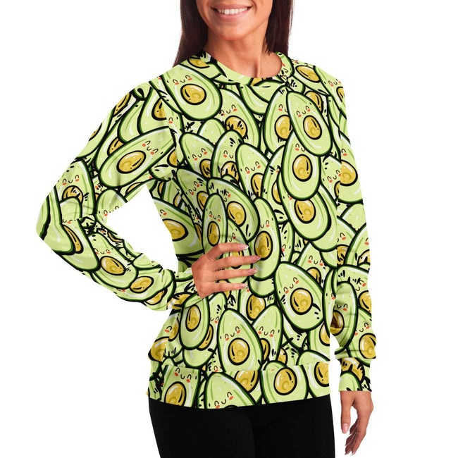 Avocado 3D Unisex Sweater - OnlyClout