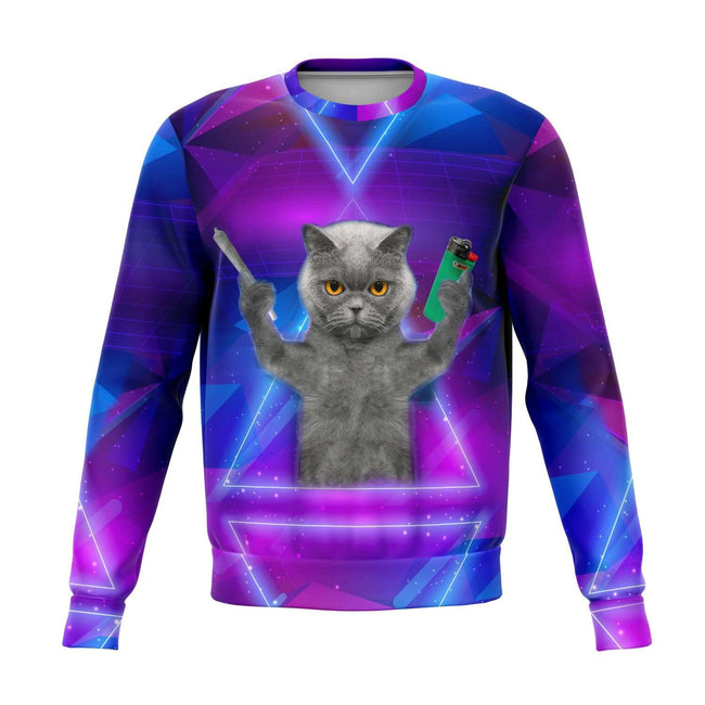Cat Galaxy 3D Sweater - OnlyClout