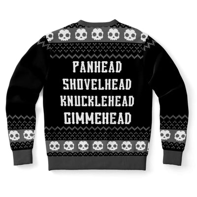 Gimhead Naughty Ugly Christmas Sweater