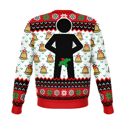 MR. STICK MISTLETOE UGLY CHRISTMAS SWEATER