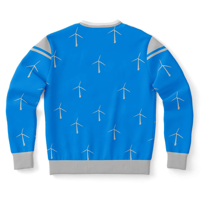 Only Wind Mill Fans Ugly Christmas Sweater - OnlyClout