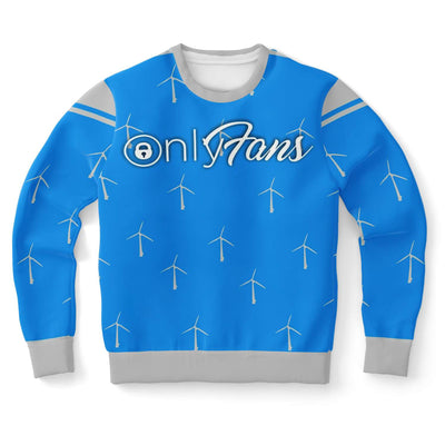 Only Wind Mill Fans Ugly Christmas Sweater