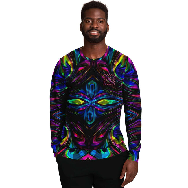 Kaleidoscopic Acid Trip 3D Unisex Sweater - OnlyClout