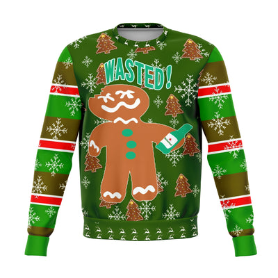 Wasted Ugly Christmas Sweater