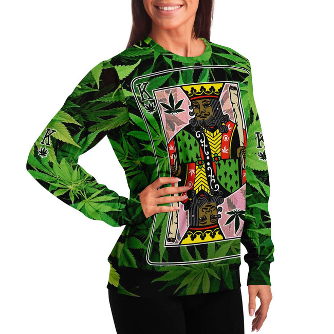 Rasta King Unisex 3D Sweater - OnlyClout