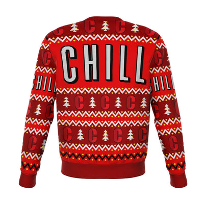 Chill Funny Ugly Christmas Sweater