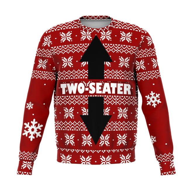 Two Seater Ugly Christmas Sweater - OnlyClout
