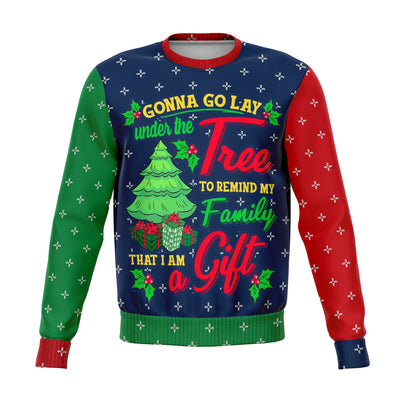 Then Greatest Gift Ugly Christmas Sweater