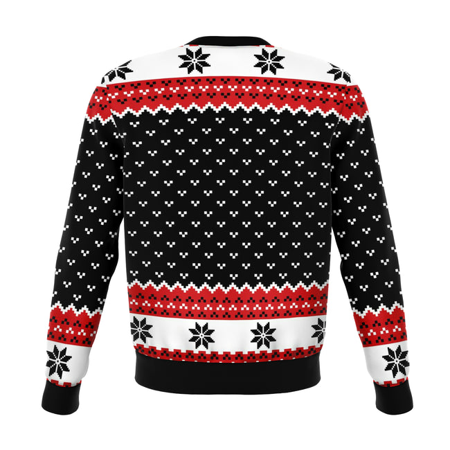 SANTA IS COMING UGLY CHRISTMAS SWEATER - OnlyClout