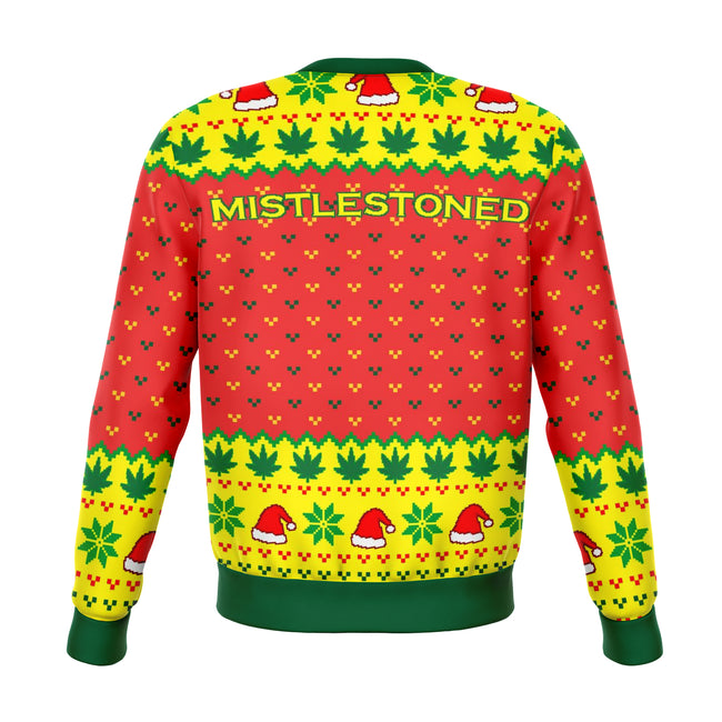 Mistlestoned Ugly Christmas Sweater - OnlyClout