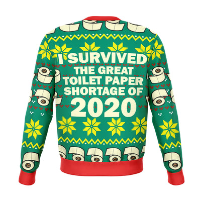 Toilet Paper Shortage 2020 Ugly Christmas Sweater