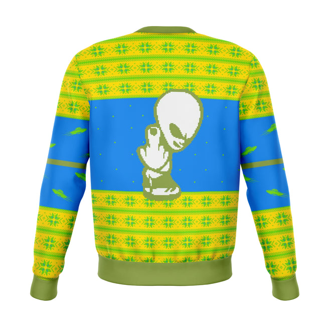 Piss On Earth Funny Ugly Christmas Sweater - OnlyClout