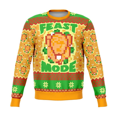 feast mode ugly Christmas sweater