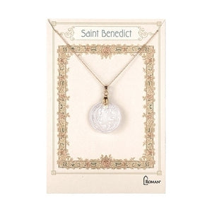 "18"" St Benedict Shell Necklace"