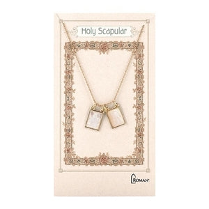 "18"" GOLD DOUBLE SCAPULAR NECK"
