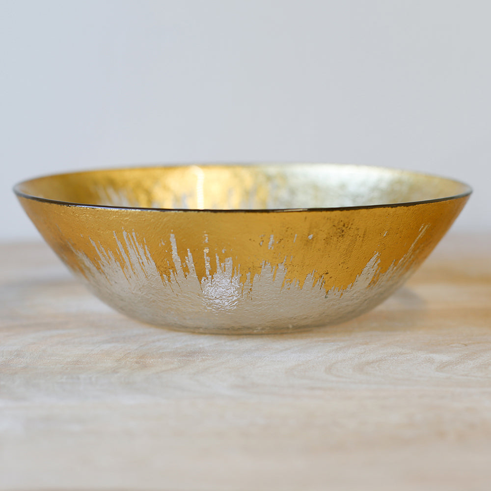 Naples Glass Serving Bowl