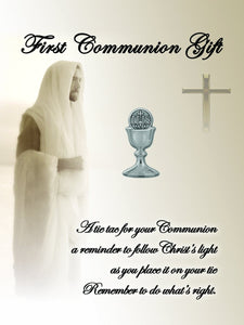 First Communion Chalice Tie Pin