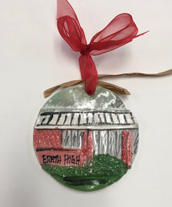 Architectural Memories - Erath High School Ornament