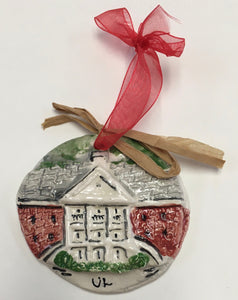 Artichitectural Memories - ULL Martin Hall Ornament