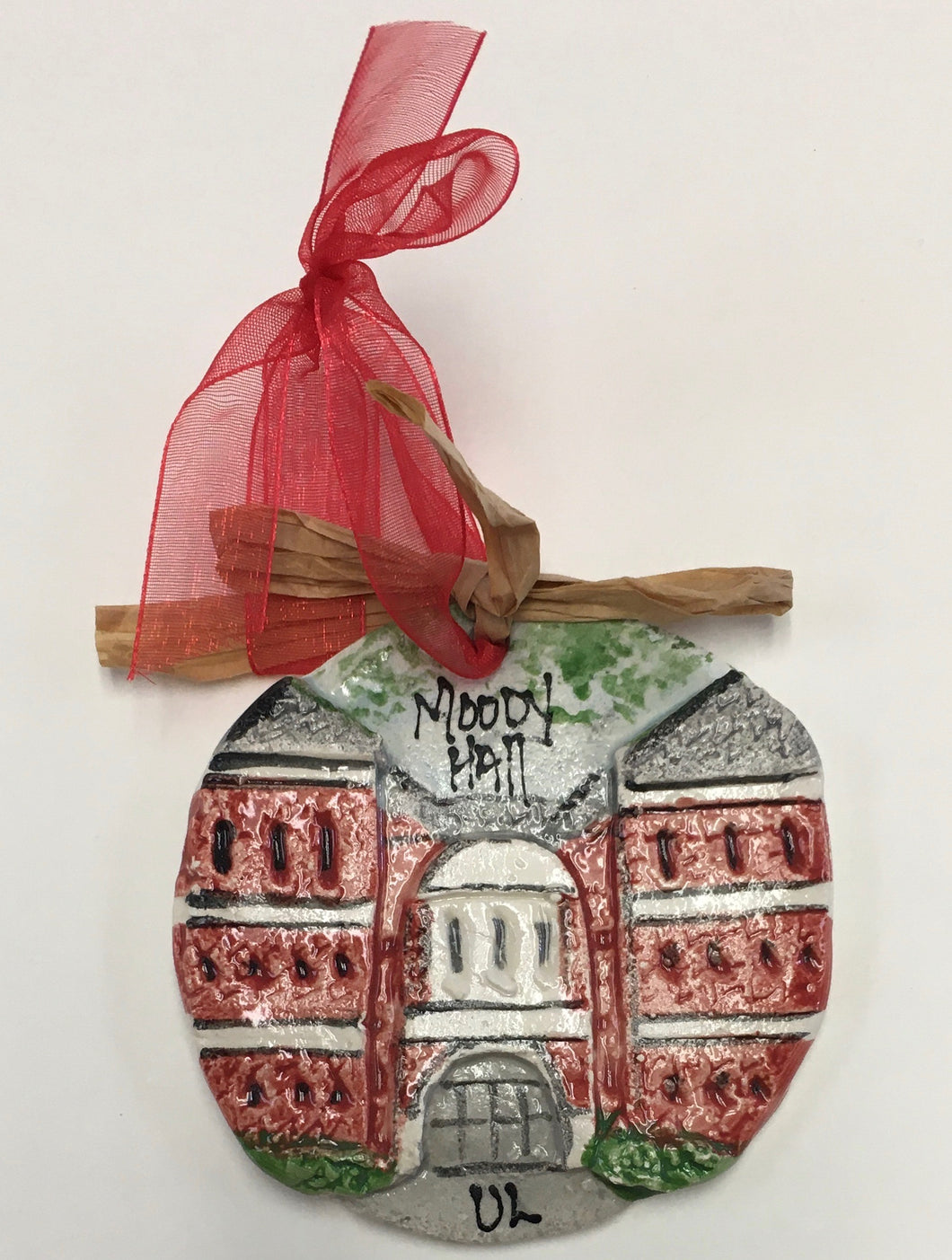 Artichitectural Memories -  ULL Moody Hall Ornament
