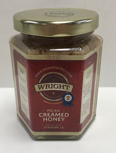 Wright Pecan Creamed Honey