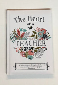 The Heart of a Teacher Book
