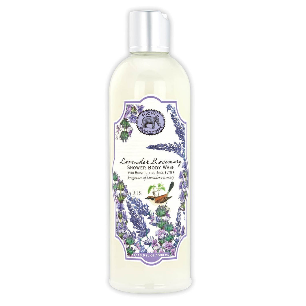 Michel Designs -  Lavender Rosemary Shower Body Wash