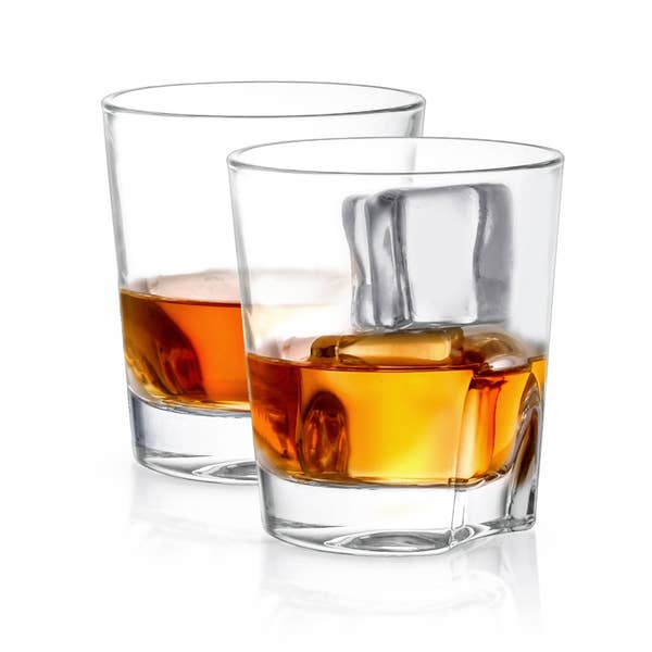 Carina Crystal Whiskey Glasses set of 2