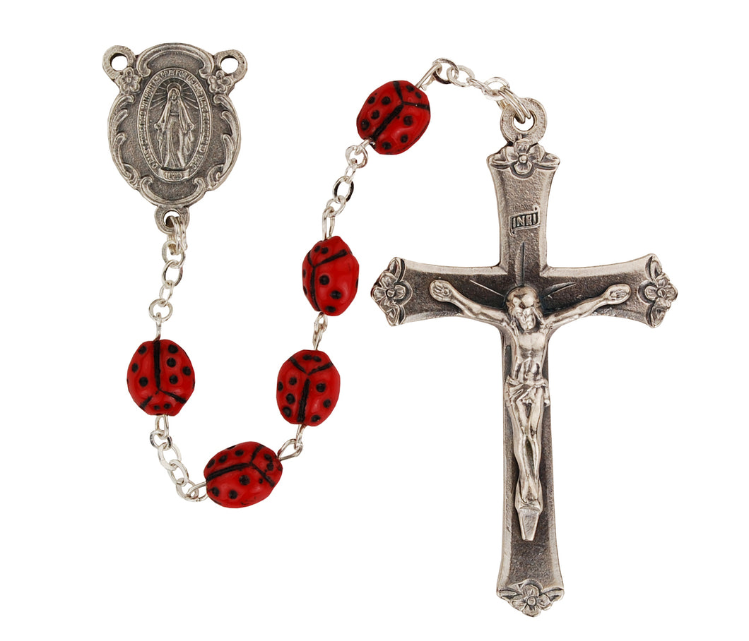 Lady Bug Rosary