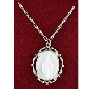 Mother of Pearl Miraculous Medal