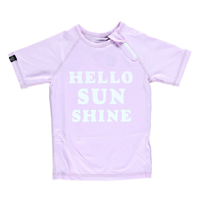 Kid Swim Tee - Hello Sunshine