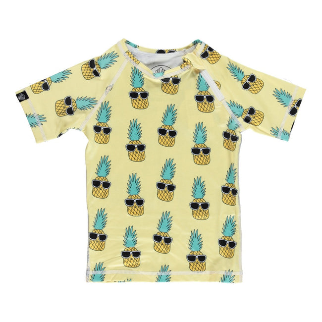 Kid Swim Tee - Punky Pineapple