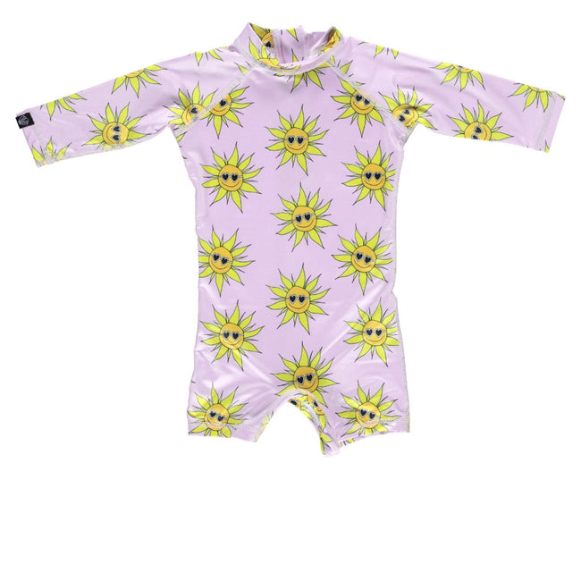 Baby Swimsuit - Sunny Flower
