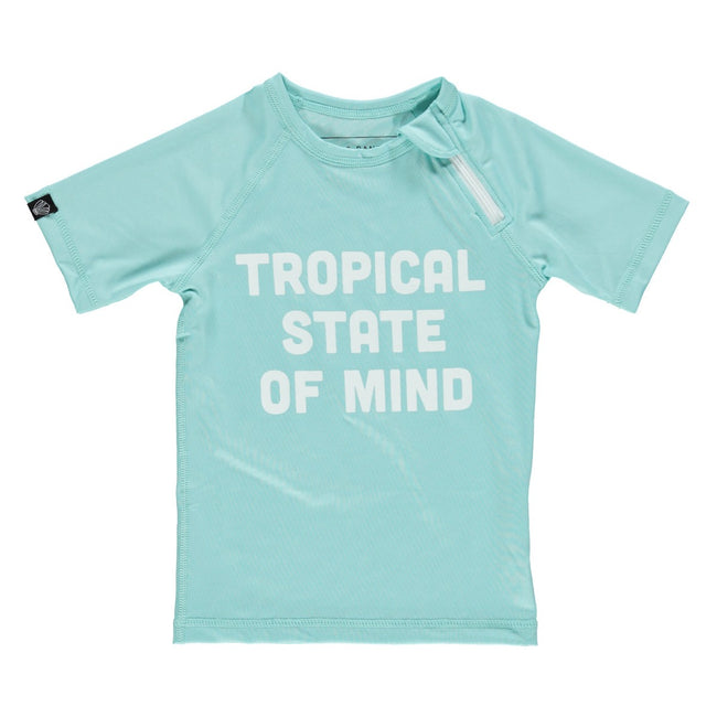 Kid Swim Tee - Tropical State of Mind