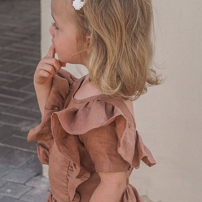 Ayva Dress - Old Rose