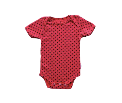 Bodysuit - Strawberry Polka Dot