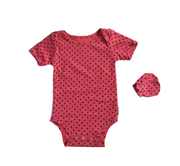 Strawberry Polka Dot - 2 pcs Set