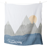 Blanket & Cards Set - I will move mountains