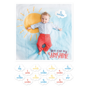 Blanket & Cards Set - You are my sunshine