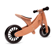 2-in-1 Tiny Tot + Tricycle & Balance Bike - Bamboo (18m-4y)