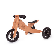 2-in-1 Tiny Tot Tricycle & Balance Bike - Bamboo (12-18m)