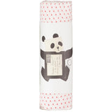 Muslin Swaddle - Little Kisses